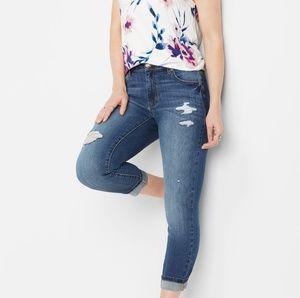 3/$50 *NEW* DenimFlex high rise slim cropped jean